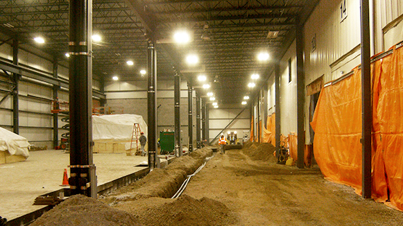 Service Parts Ontario Plant - Bertram Construction